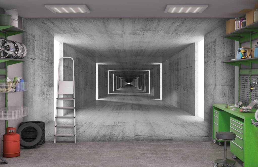 Other - Concrete tunnel - Office 2