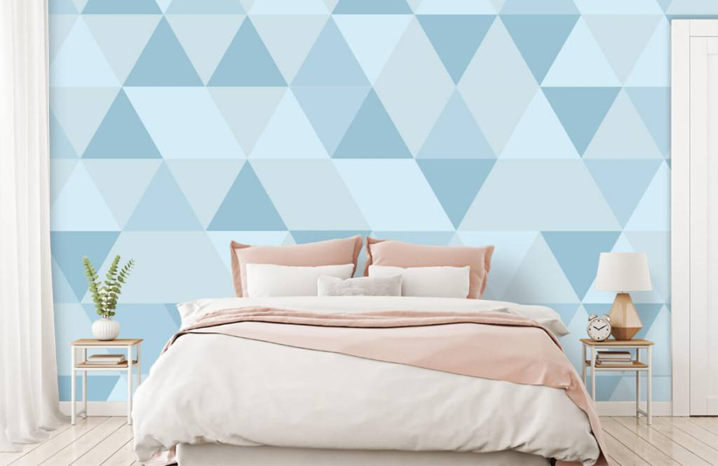 Other - Blue triangles - Children's room 1