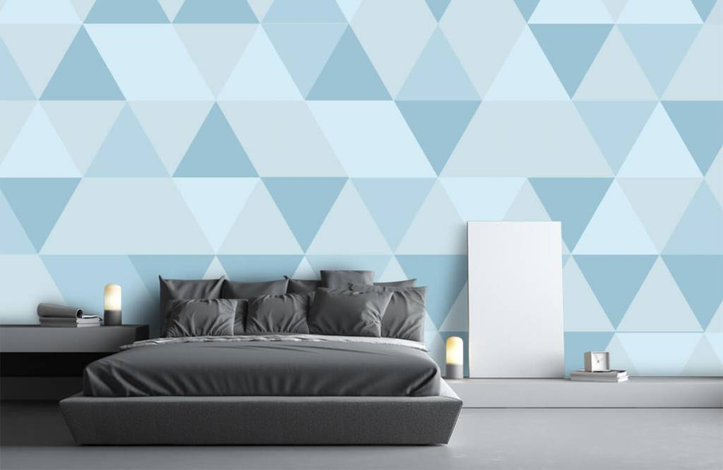 Other - Blue triangles - Children's room 2