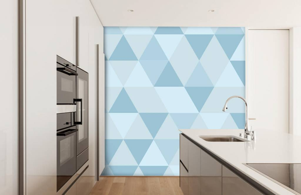 Other - Blue triangles - Children's room 3