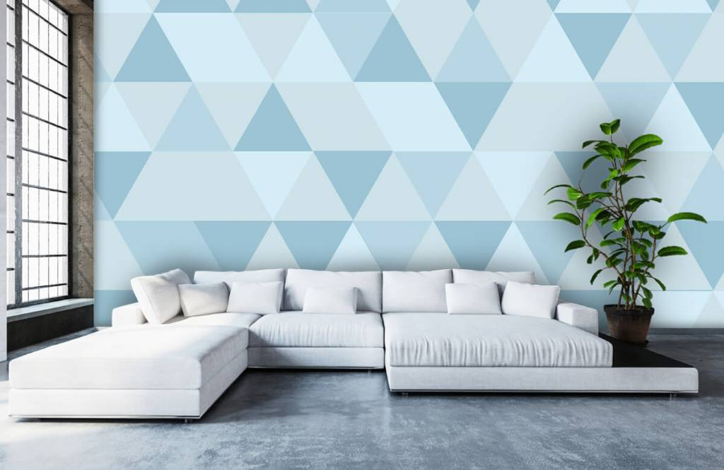 Other - Blue triangles - Children's room 5