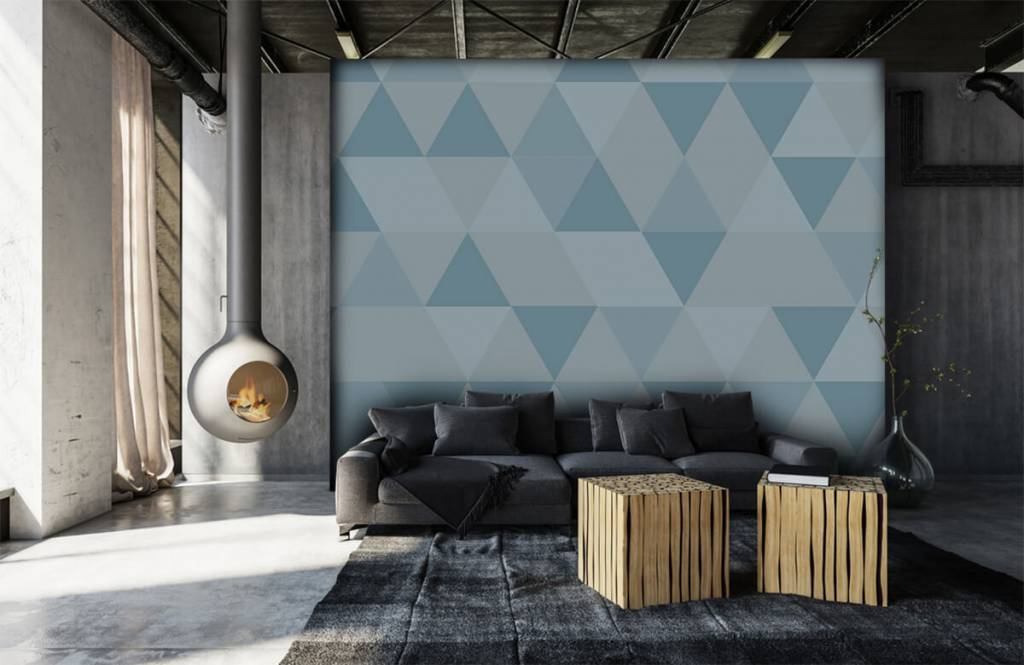 Other - Blue triangles - Children's room 6