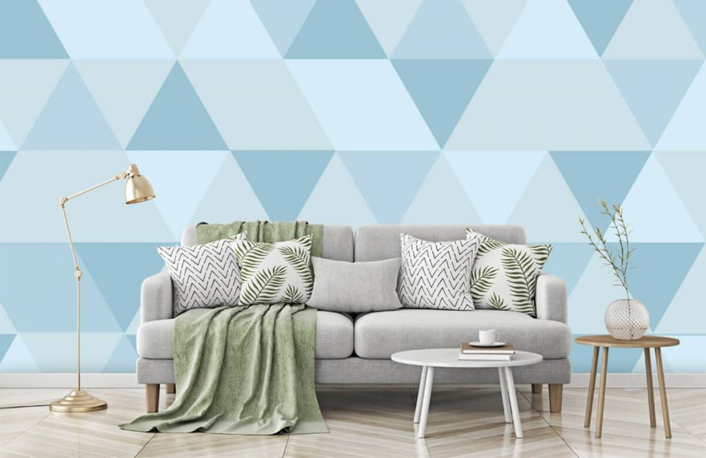 Other - Blue triangles - Children's room 7
