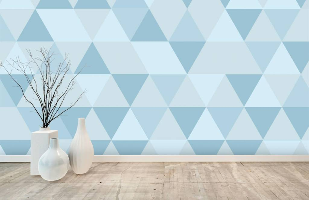 Other - Blue triangles - Children's room 8