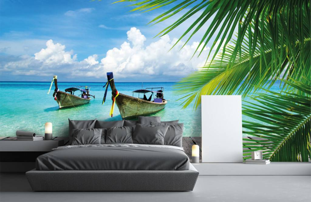Palmtrees - Boat and a palm tree - Living room 3