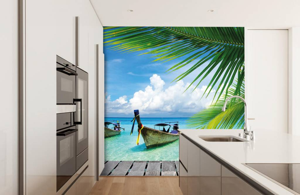 Palmtrees - Boat and a palm tree - Living room 4