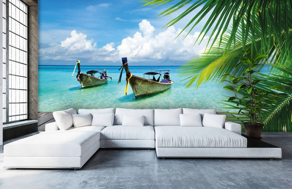 Palmtrees - Boat and a palm tree - Living room 6