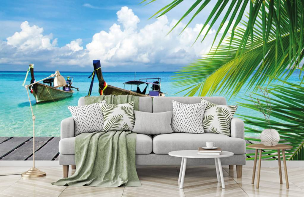 Palmtrees - Boat and a palm tree - Living room 8