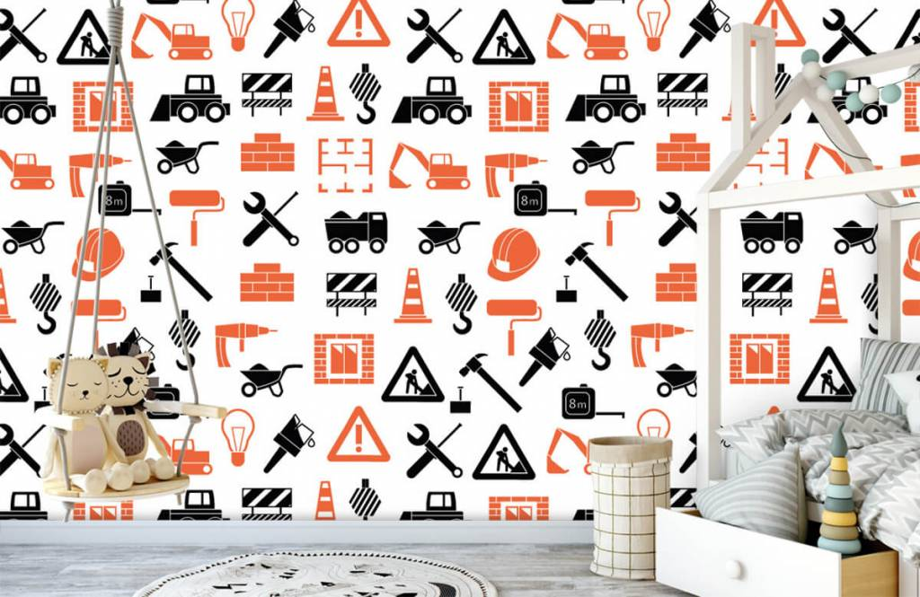 Other - Construction vehicles and building materials - Children's room 4