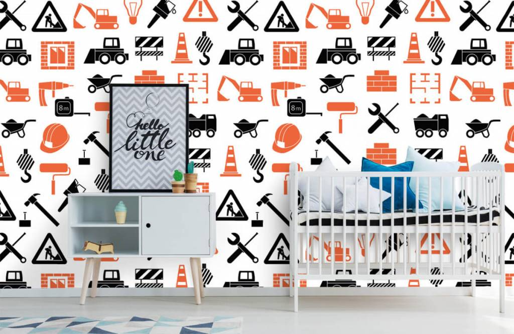 Other - Construction vehicles and building materials - Children's room 6