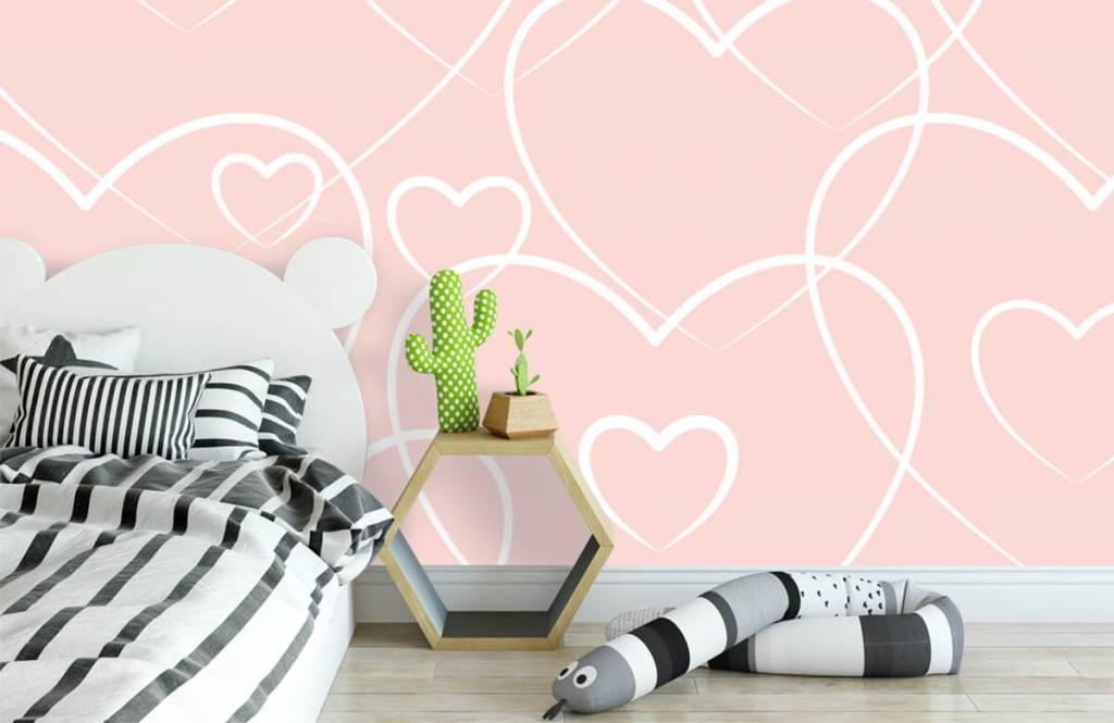 Other - Cream hearts - Children's room 1