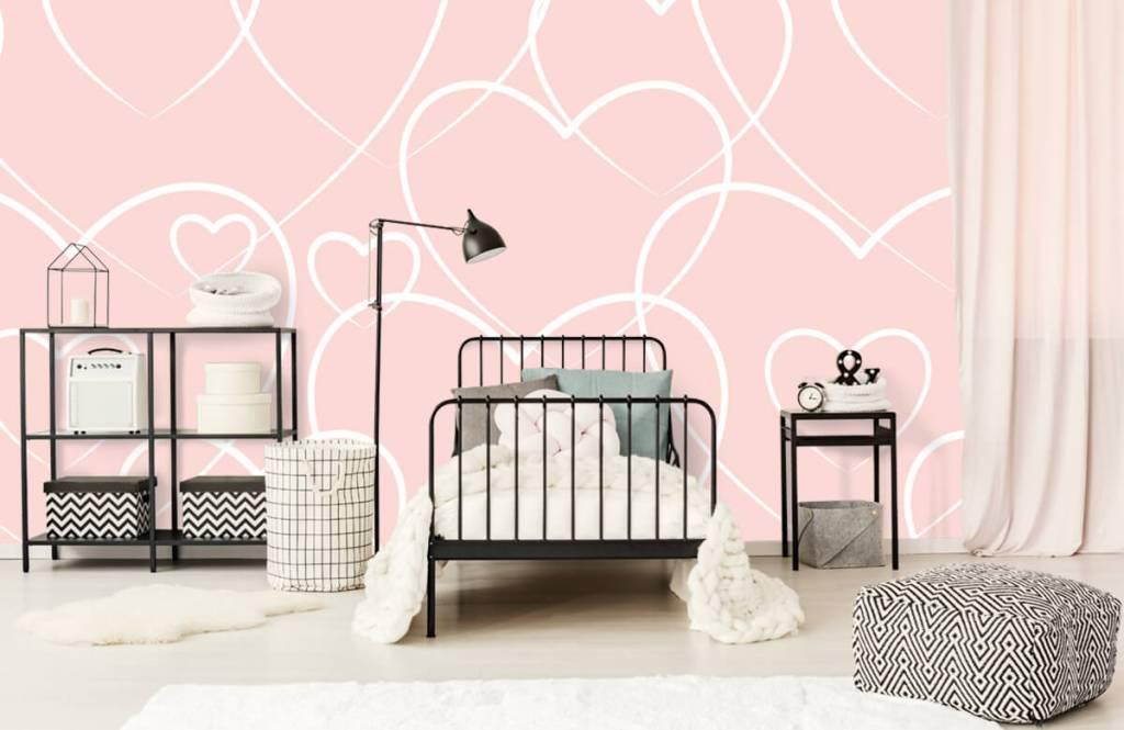 Other - Cream hearts - Children's room 2