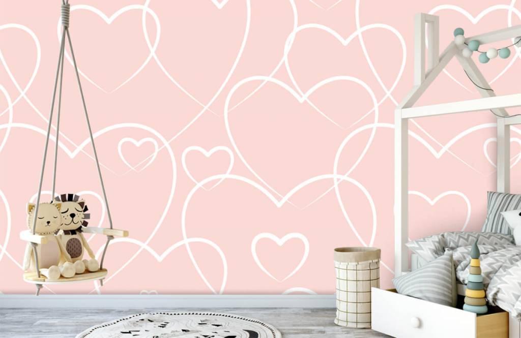 Other - Cream hearts - Children's room 3