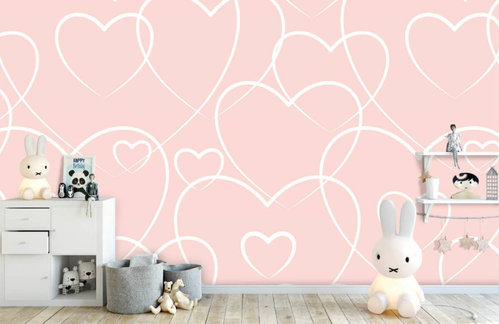 Other - Cream hearts - Children's room 4