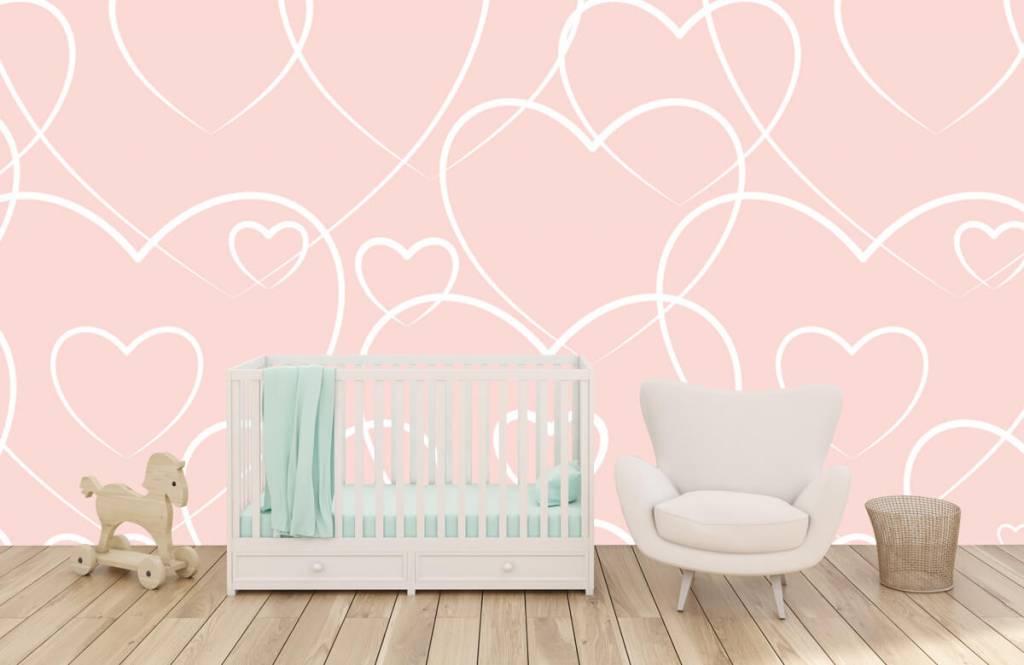 Other - Cream hearts - Children's room 5