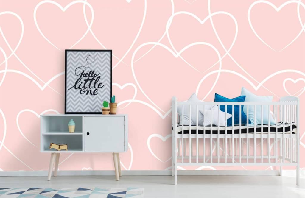 Other - Cream hearts - Children's room 6