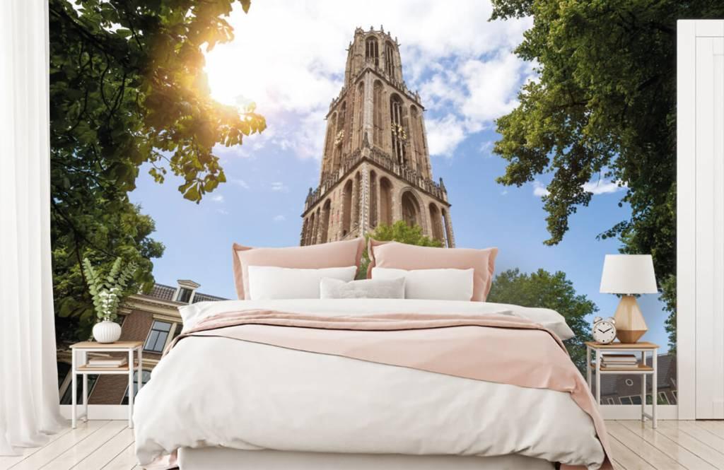 Cities wallpaper - Dom tower in Utrecht - Bedroom 2
