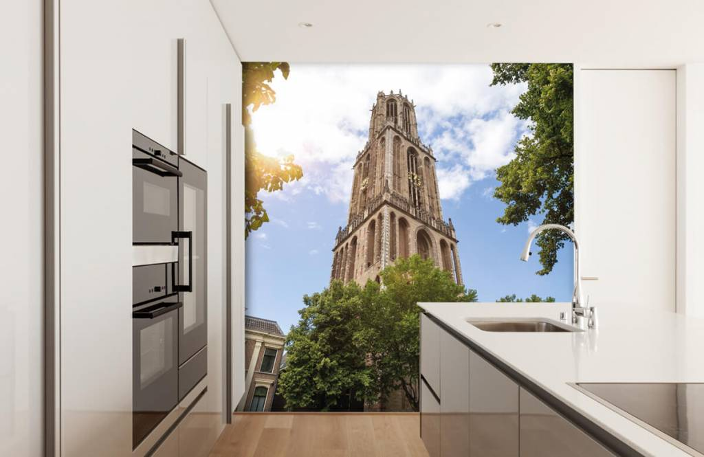 Cities wallpaper - Dom tower in Utrecht - Bedroom 4