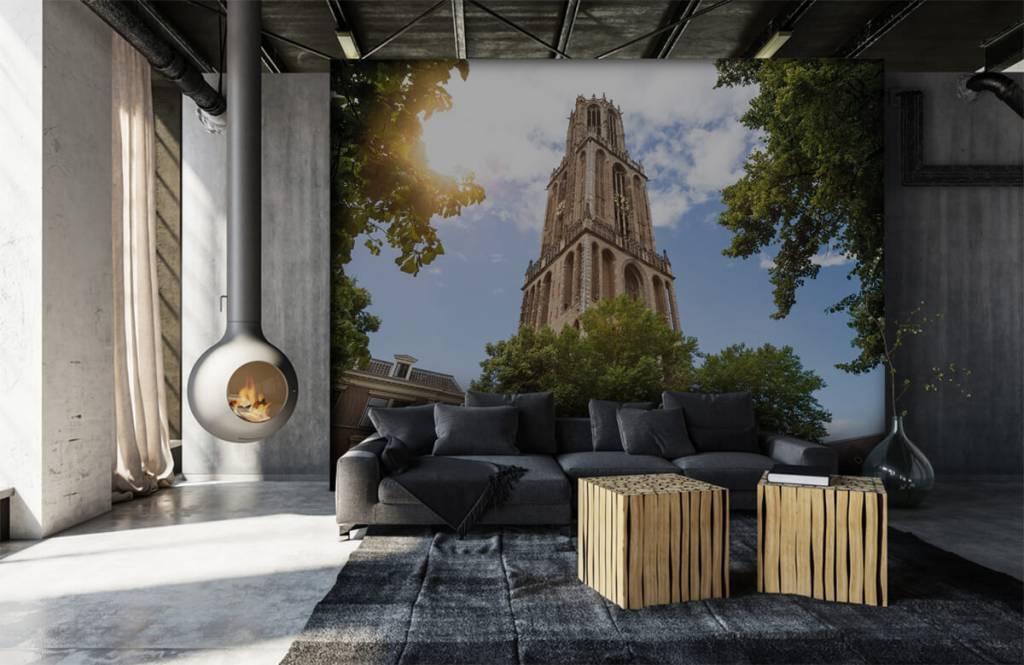 Cities wallpaper - Dom tower in Utrecht - Bedroom 6