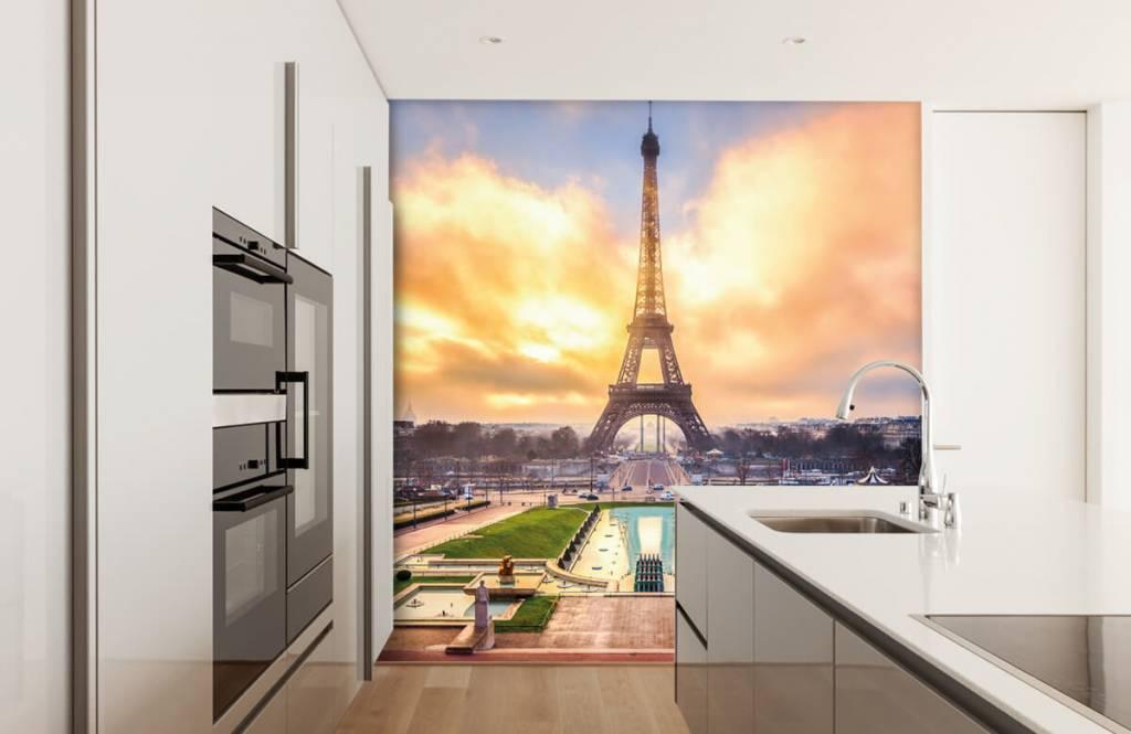 Cities wallpaper - Eiffel Tower - Bedroom 4