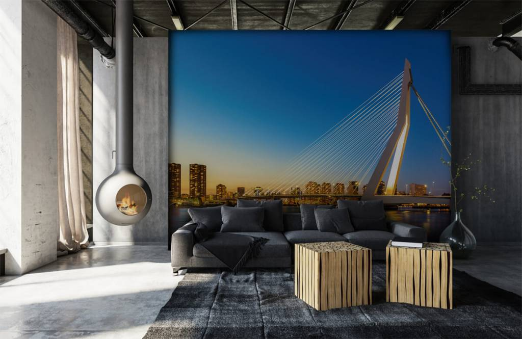 Cities wallpaper - Erasmus Bridge - Office 7