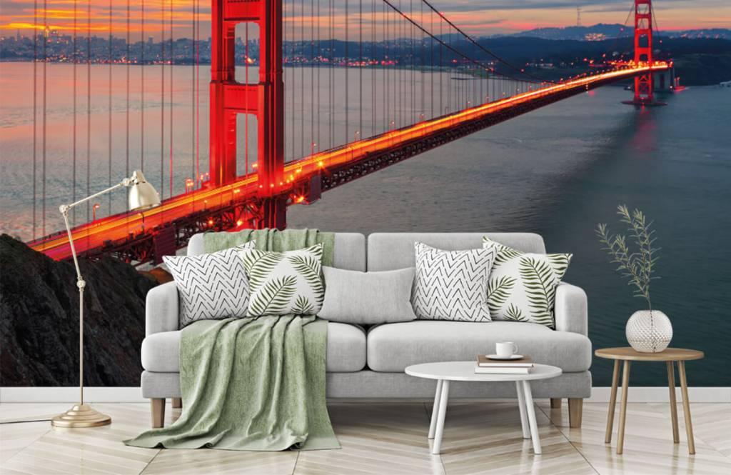 Cities wallpaper - Golden Gate Bridge - Bedroom 1