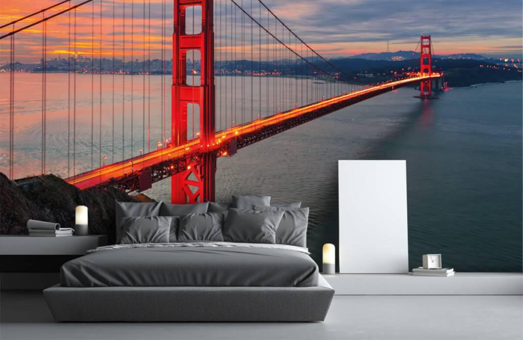 Cities wallpaper - Golden Gate Bridge - Bedroom 3
