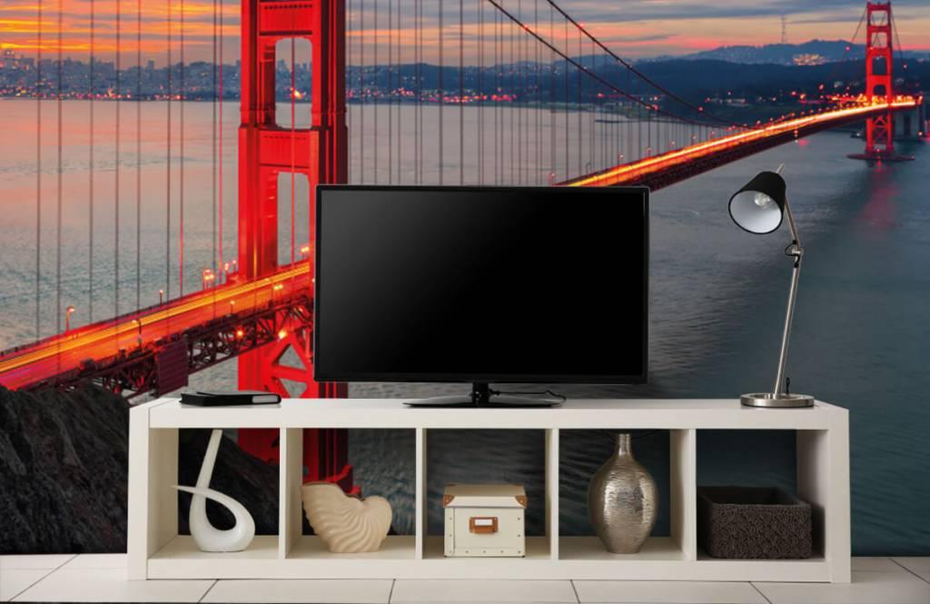 Cities wallpaper - Golden Gate Bridge - Bedroom 5