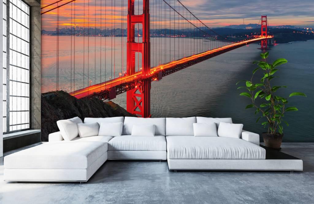 Cities wallpaper - Golden Gate Bridge - Bedroom 6
