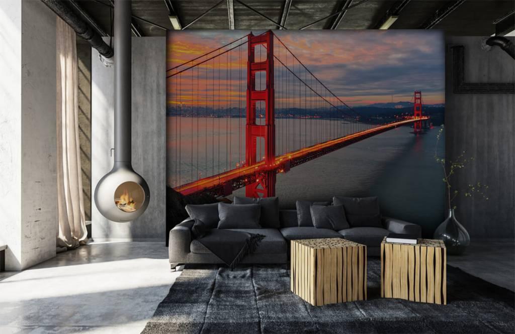 Cities wallpaper - Golden Gate Bridge - Bedroom 7
