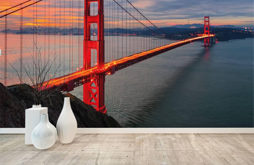 Cities wallpaper - Golden Gate Bridge - Bedroom 8