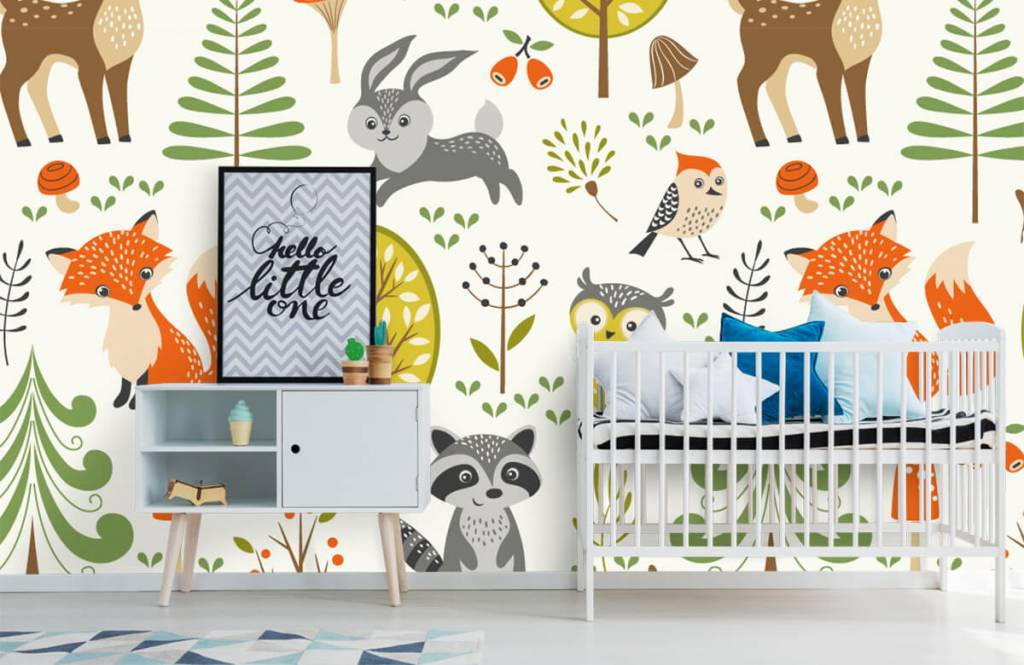 Other - Animals in the forest - Children's room 1