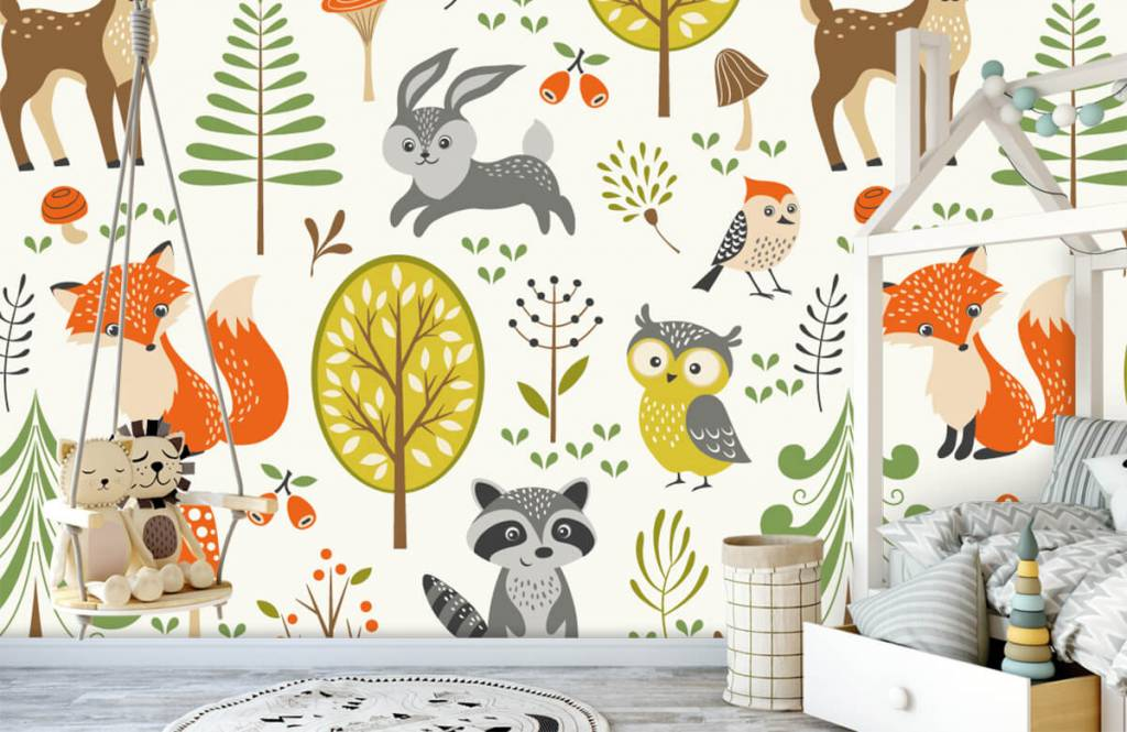 Other - Animals in the forest - Children's room 4