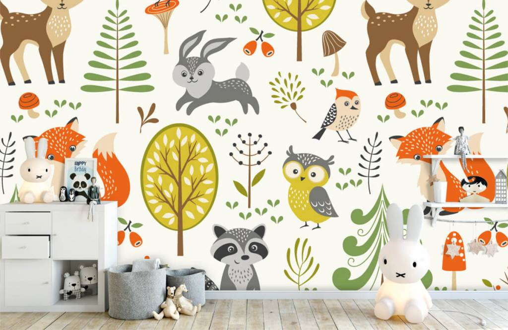 Other - Animals in the forest - Children's room 5