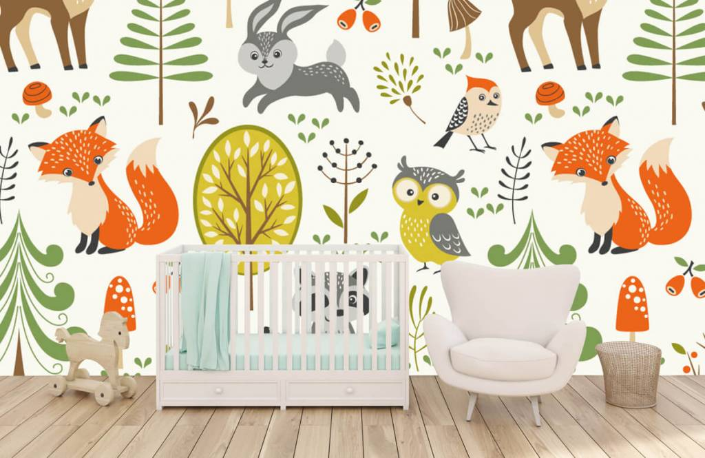Other - Animals in the forest - Children's room 6