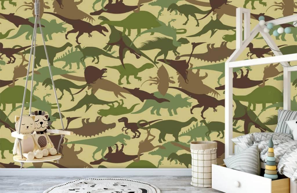 Dinosaurs - Dino camouflage - Children's room 1