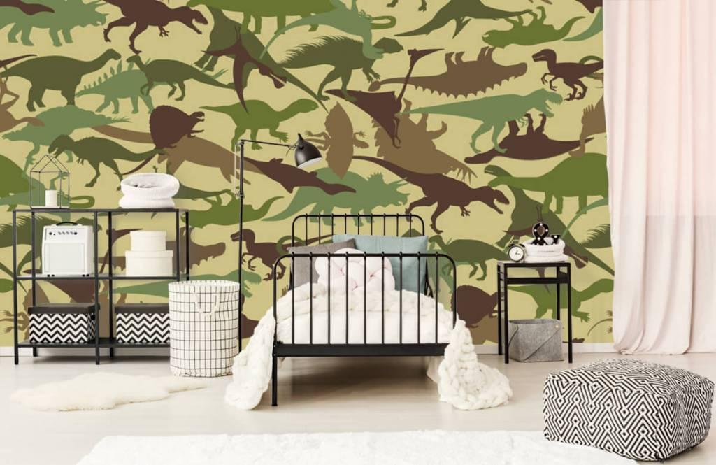 Dinosaurs - Dino camouflage - Children's room 2