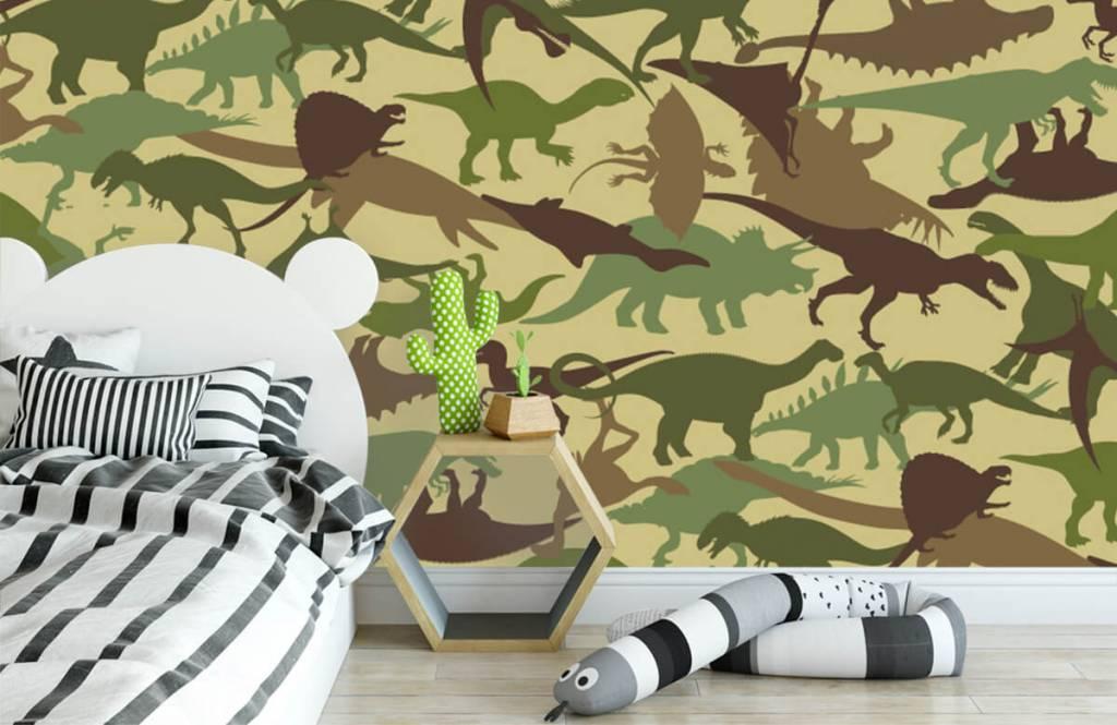 Dinosaurs - Dino camouflage - Children's room 3