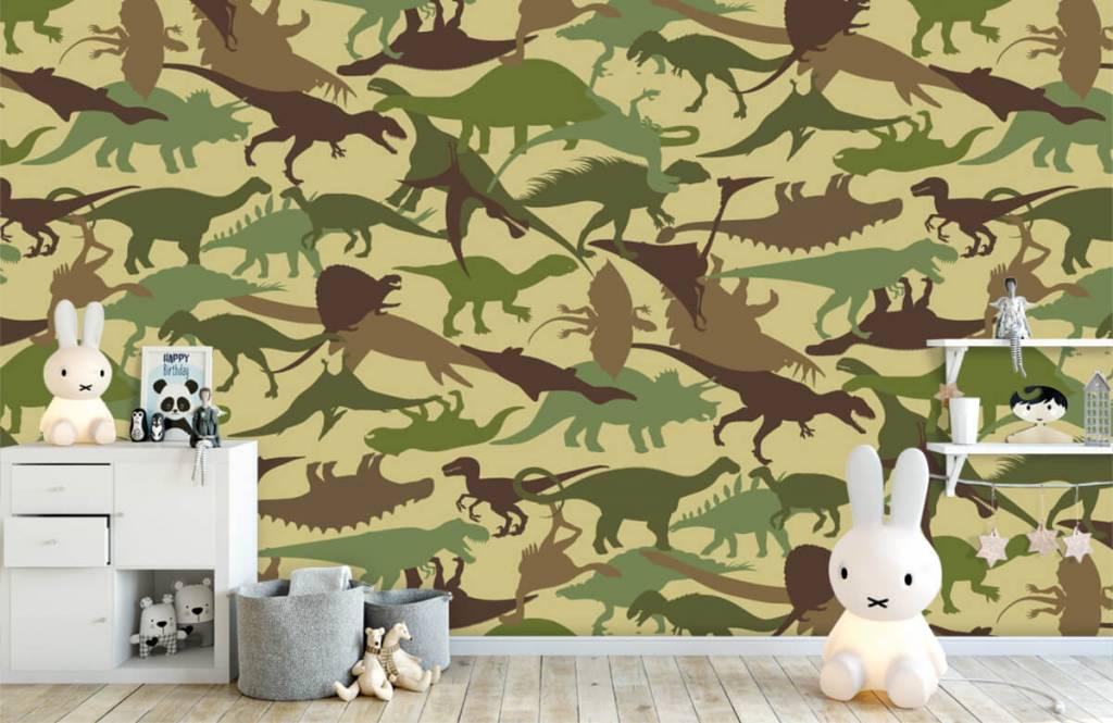 Dinosaurs - Dino camouflage - Children's room 4