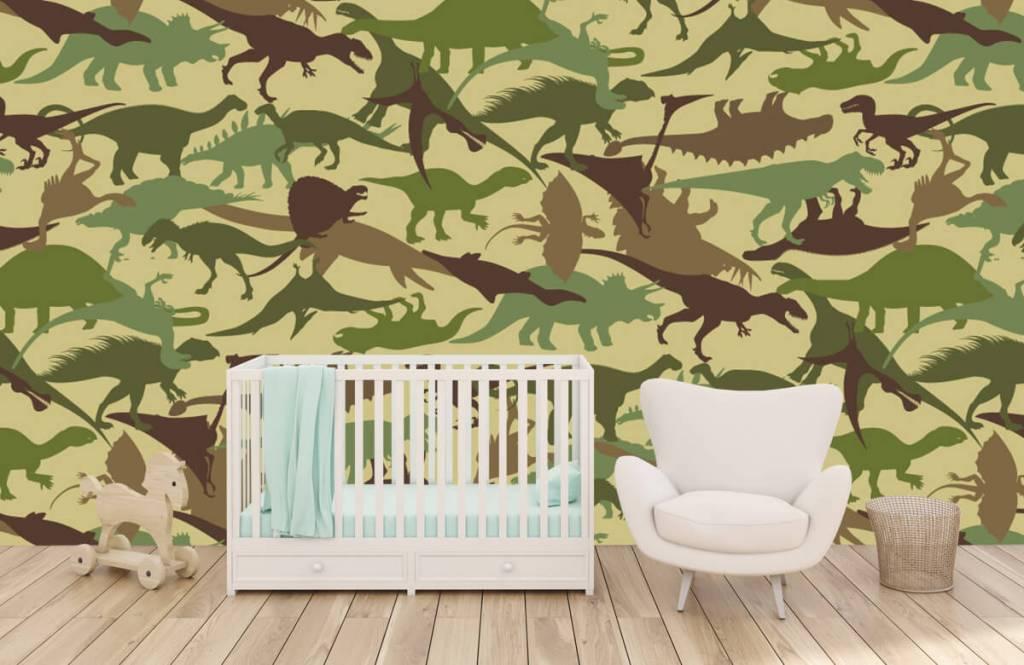 Dinosaurs - Dino camouflage - Children's room 5