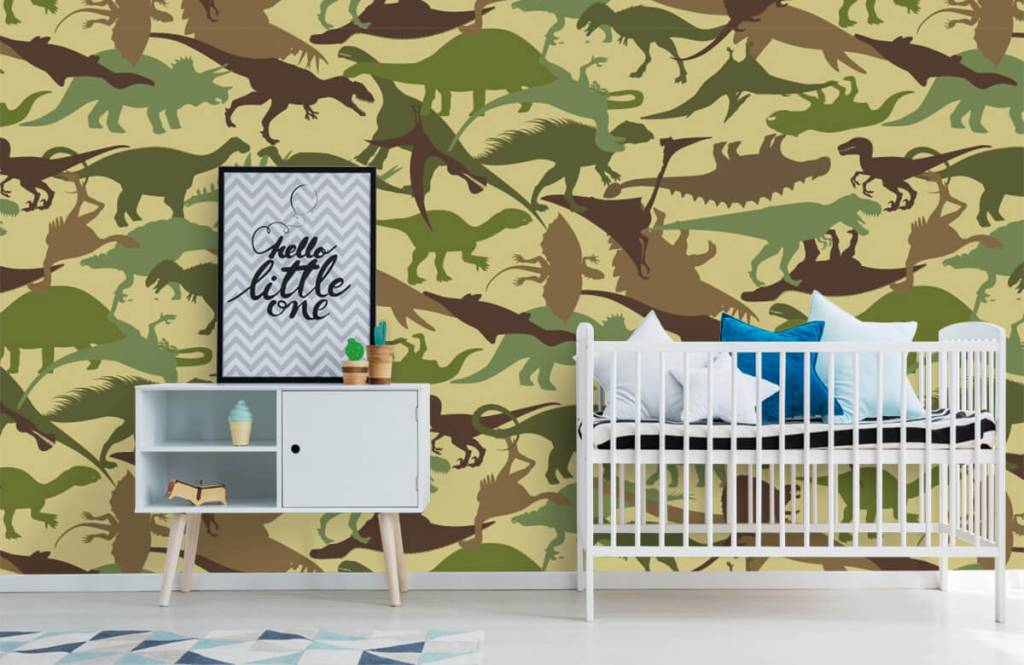 Dinosaurs - Dino camouflage - Children's room 6