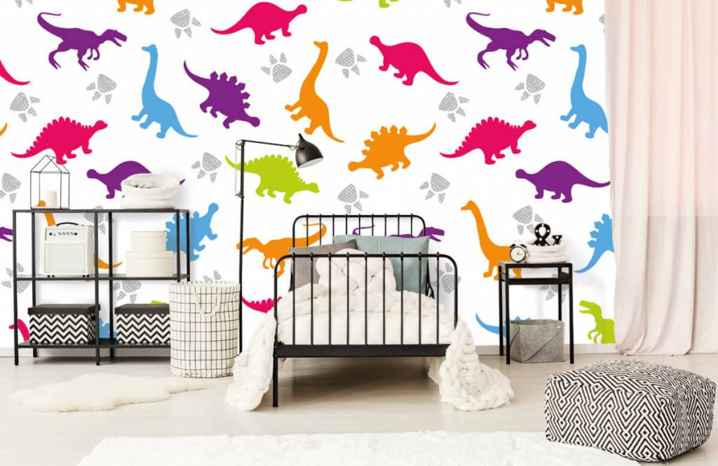 Boys wallpaper - Dinners and paws - Children's room 2