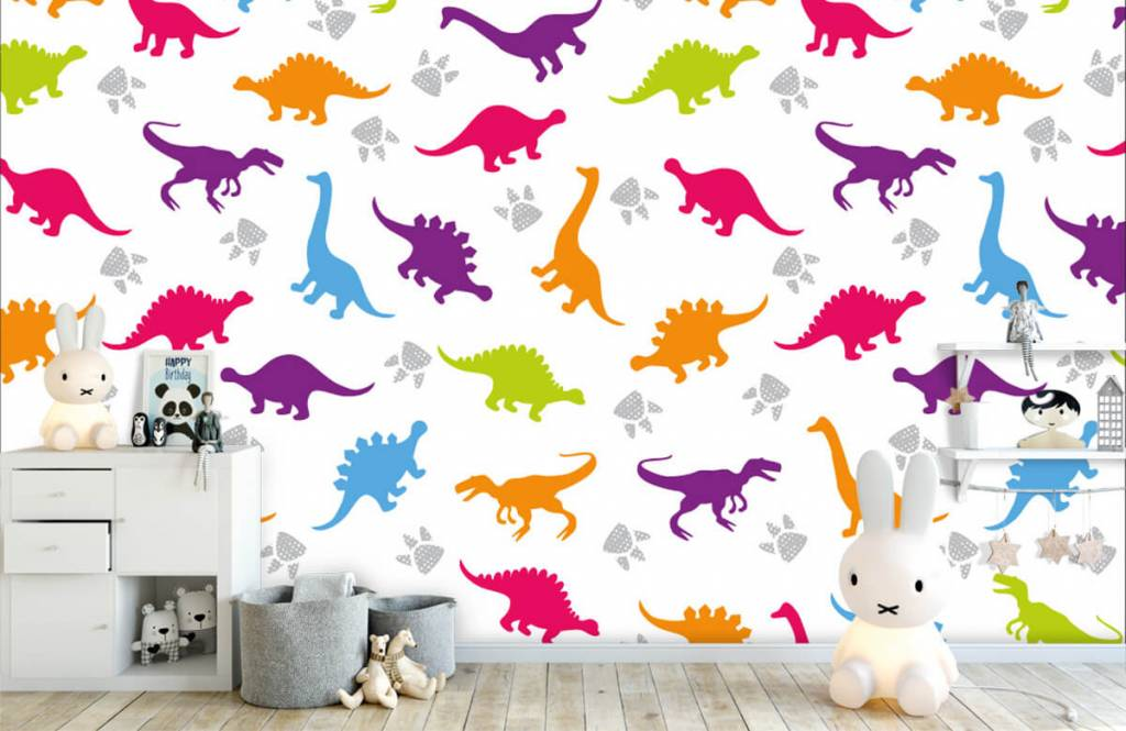 Boys wallpaper - Dinners and paws - Children's room 4