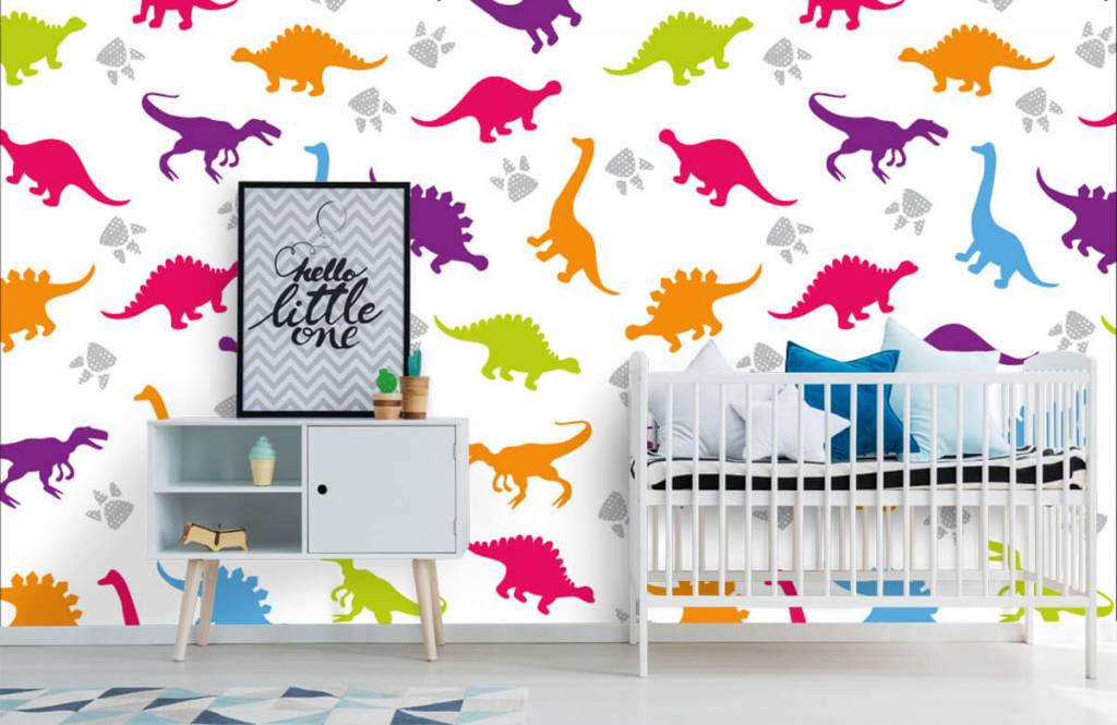 Boys wallpaper - Dinners and paws - Children's room 6