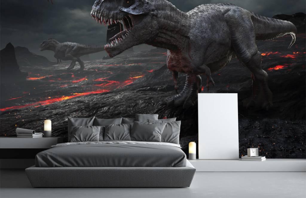 Dinosaurs - 3D dino - Children's room 1
