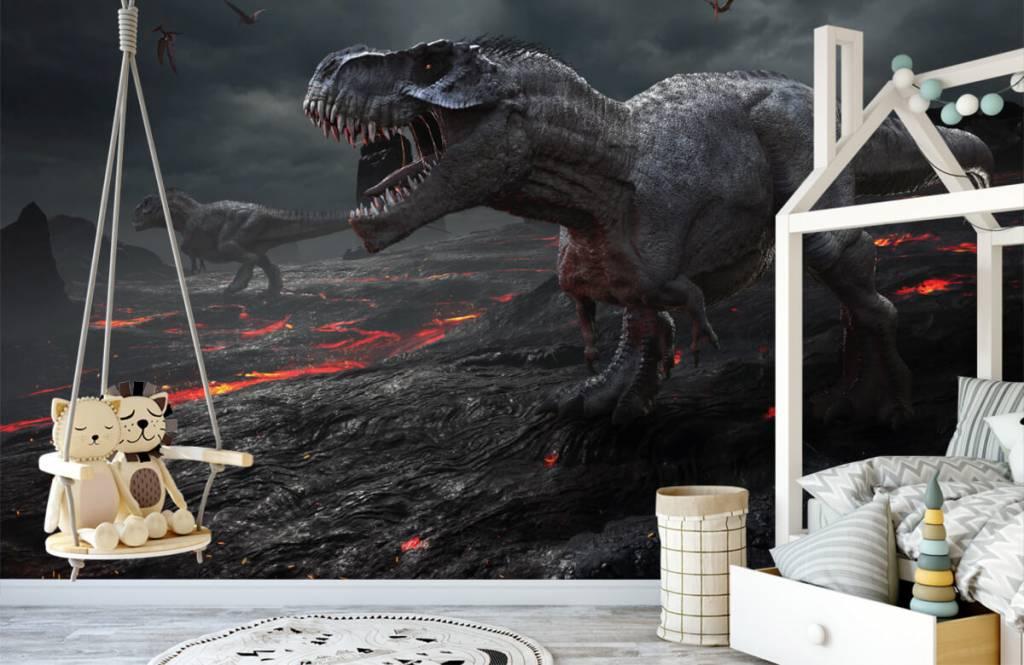 Dinosaurs - 3D dino - Children's room 2