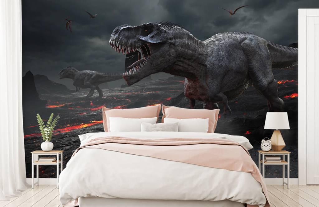 Dinosaurs - 3D dino - Children's room 3