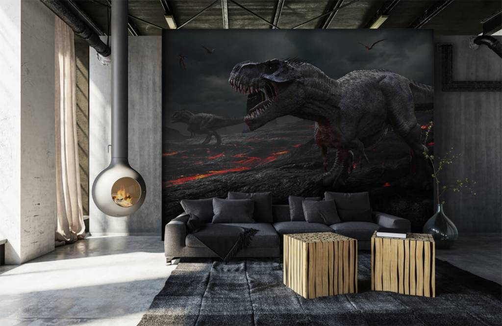 Dinosaurs - 3D dino - Children's room 4