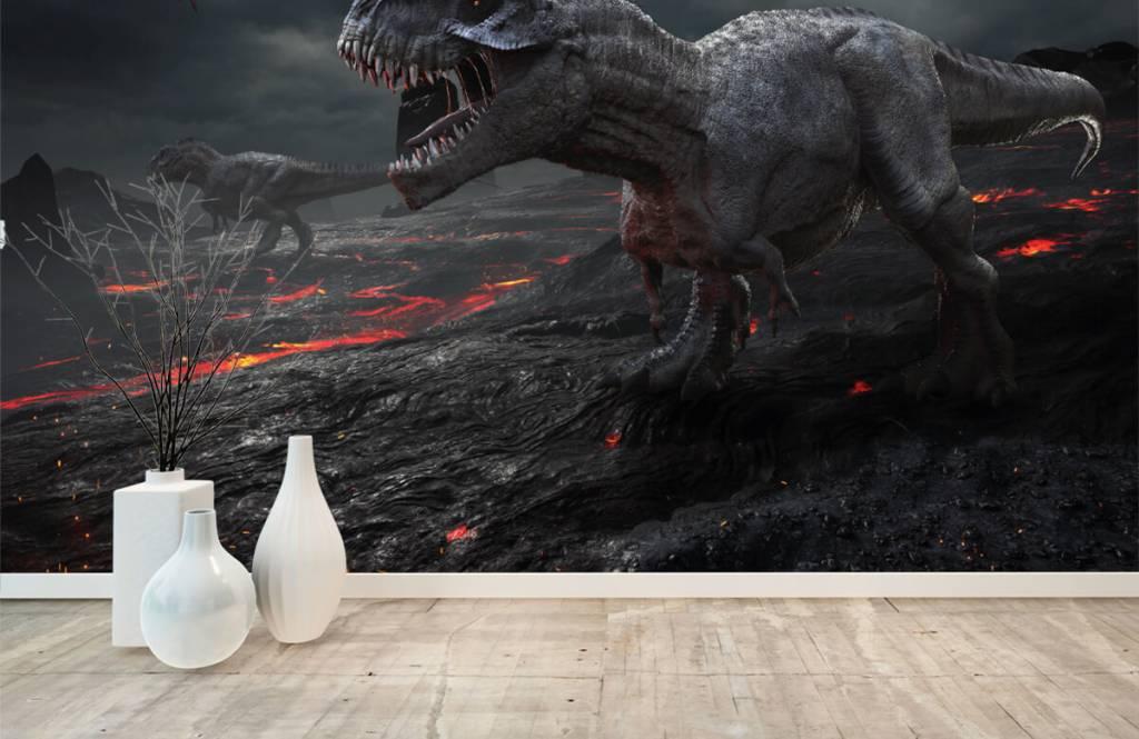 Dinosaurs - 3D dino - Children's room 5