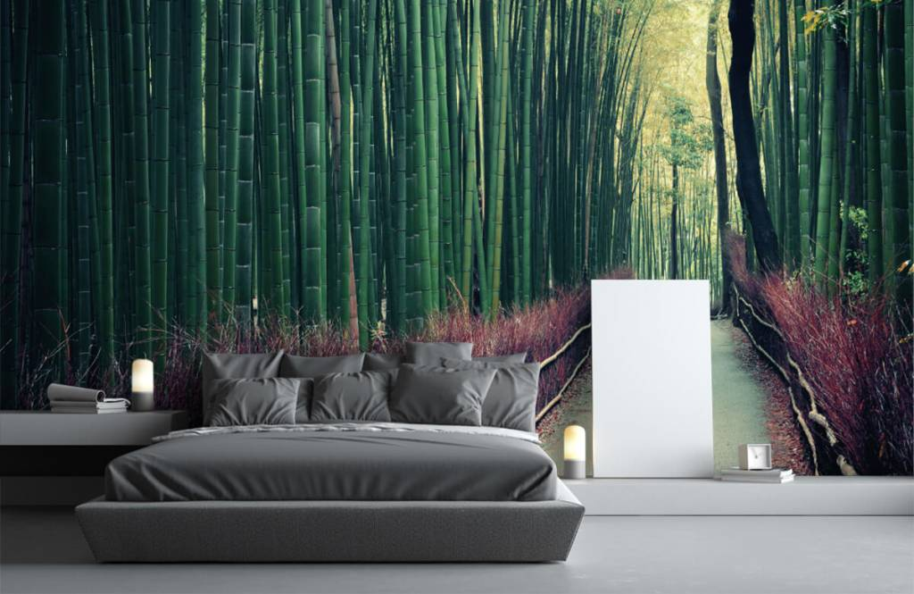 Forest wallpaper - Bamboo forest - Entrance 2